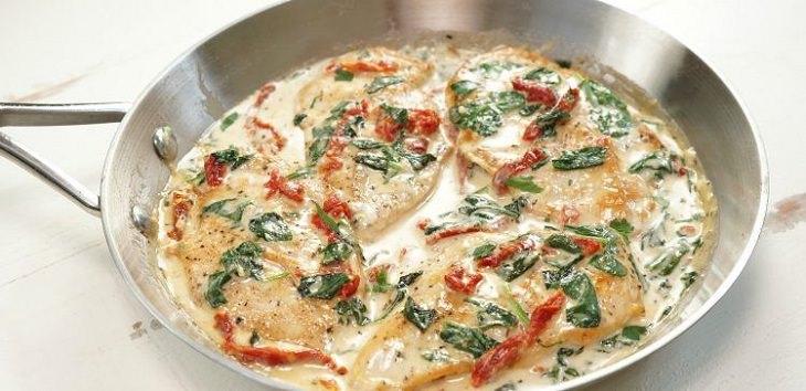 receita de frango à toscana