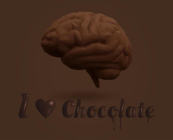 ciência explica os efeitos do chocolate no cérebro humano