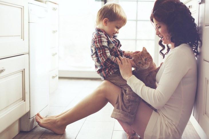 negligência materna