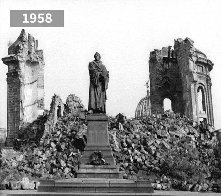 fotos de antes e depois de cidades da europa