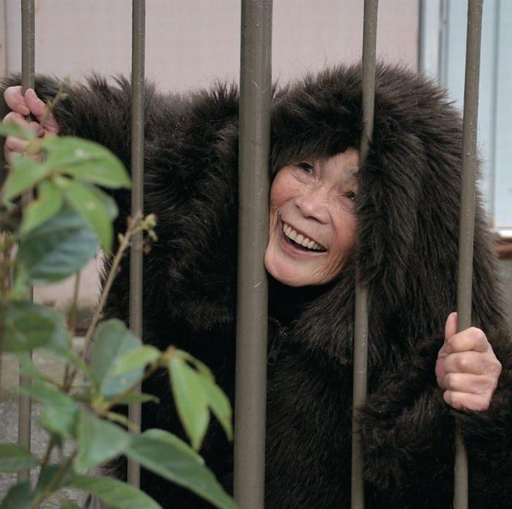 Divirta-se com as hilárias fotos de Kimiko Nishimoto