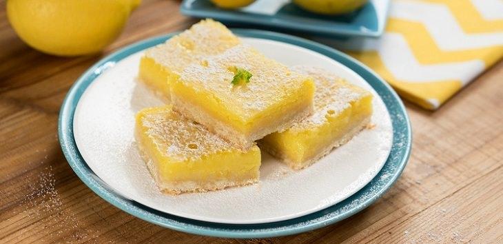 sobremesa fácil de limão
