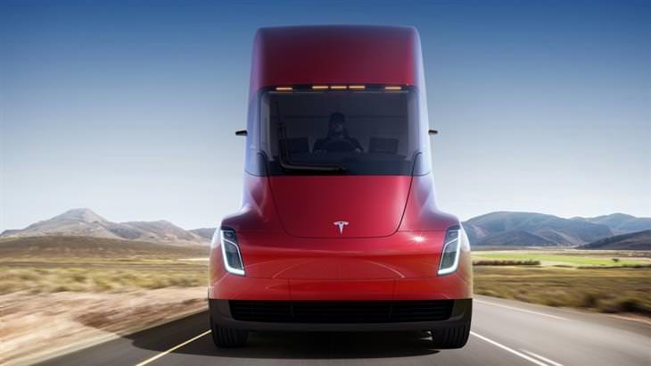 novos veículos elétricos da tesla: roadster e semi