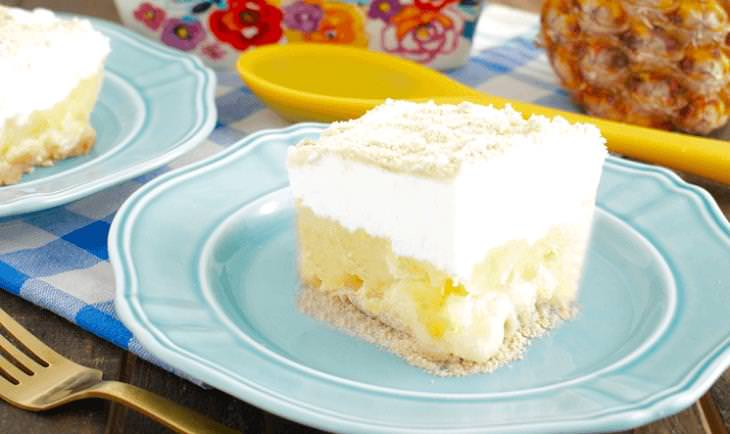 receita de sobremesa de abacaxi