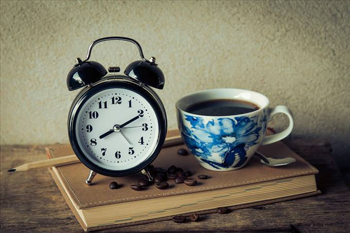 café e despertador