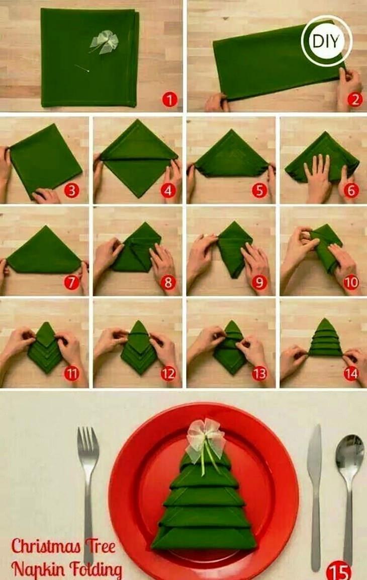 15 ideias criativas e baratas para a árvore de Natal
