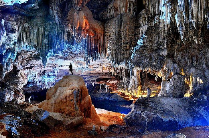 cavernas do parque estadual terra ronca