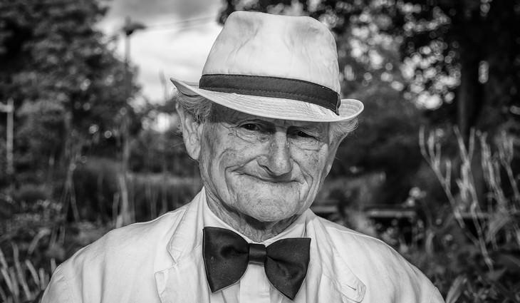 História inspirada na alegria de um velho