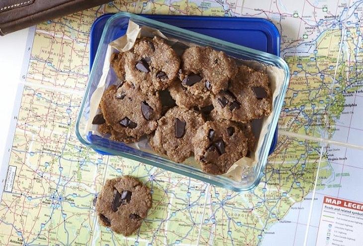 receita de cookie que não vai ao forno