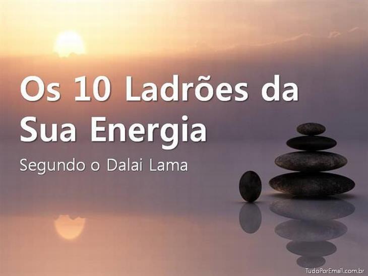 dicas de dalai lama para energia