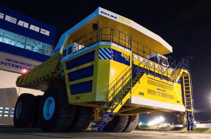 Os 5 maiores caminhões do mundo