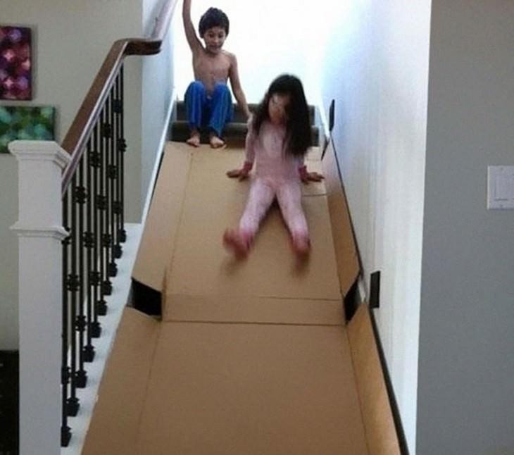 10 ideias caseiras para entreter as crianças
