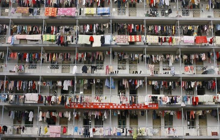 imagens da superpopulação da china