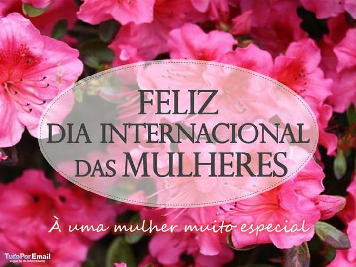 cartão virtual de dia internacional da mulher