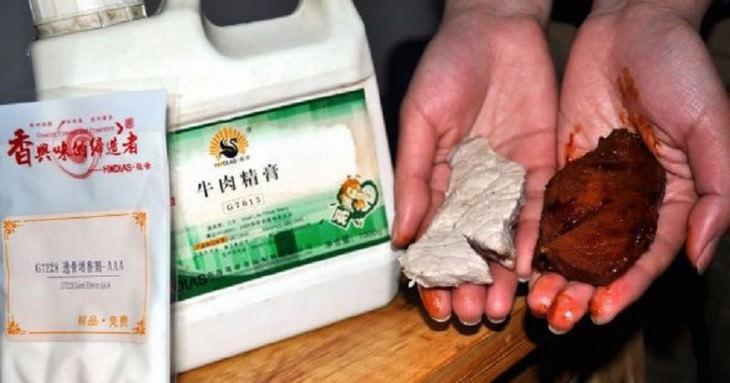 China está falsificando até alimento