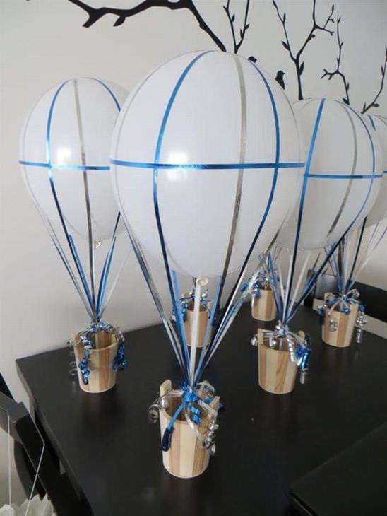 as melhores decorações feitas com balões