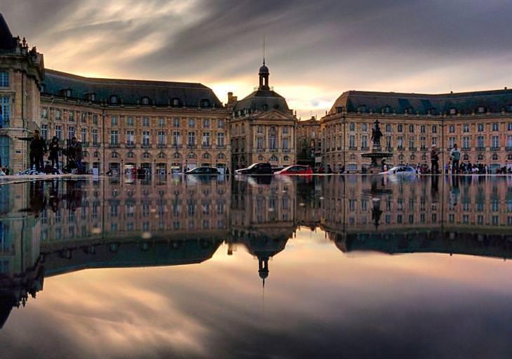 fotos lindas de reflexos em cidades