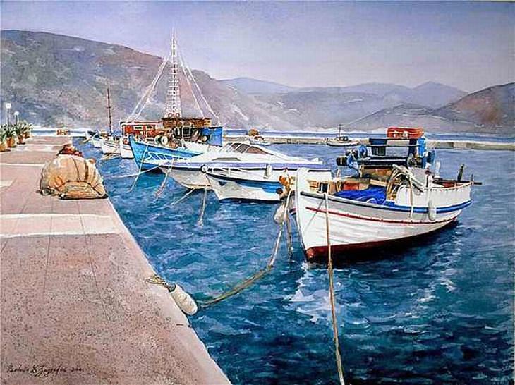 Grécia: Quando a Pintura Capta a Alma de Um País...