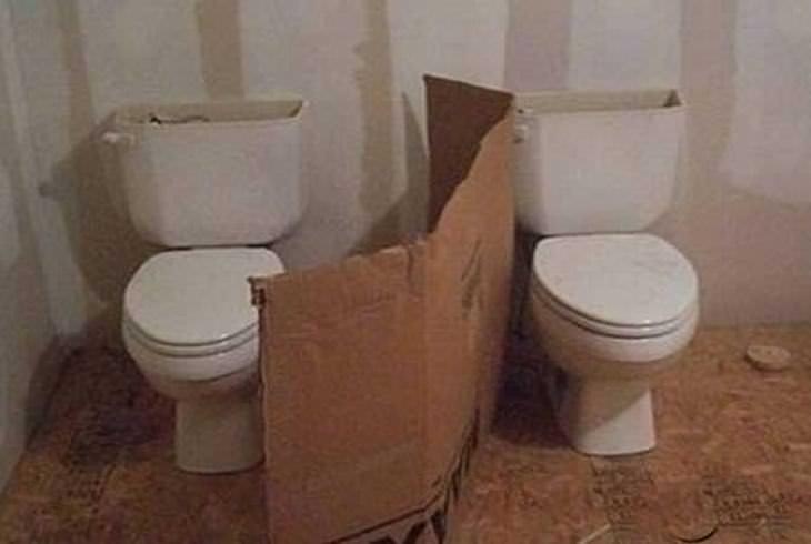 Os banheiros mais mal projetados que você já viu!
