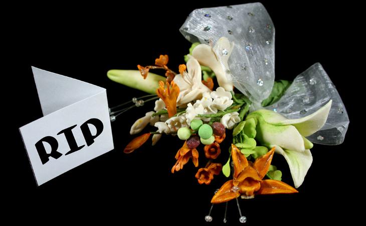 Piada: O florista e o cliente irritado