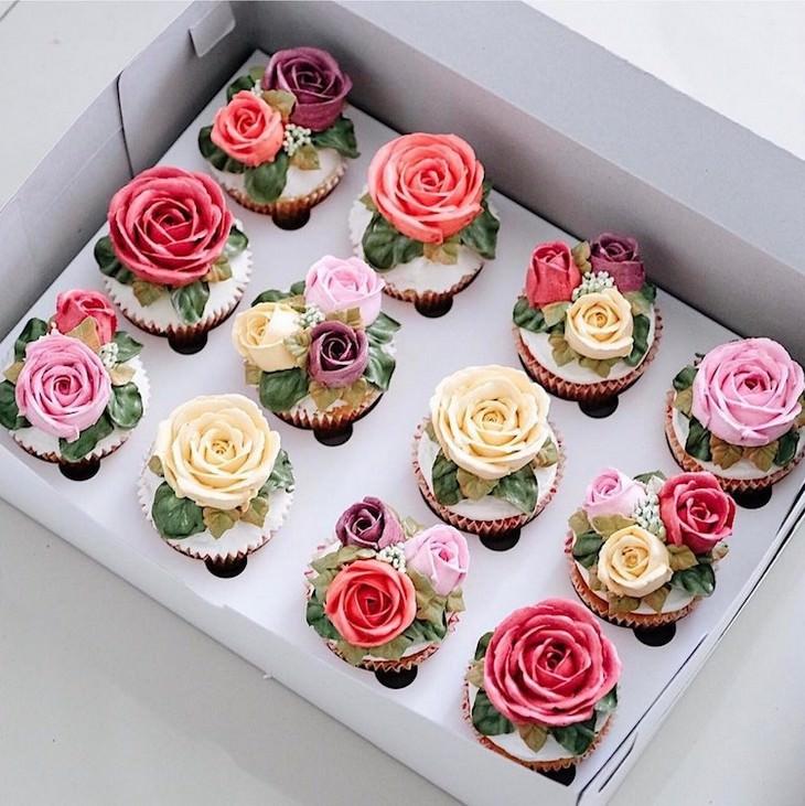 bolos inspirados na primavera