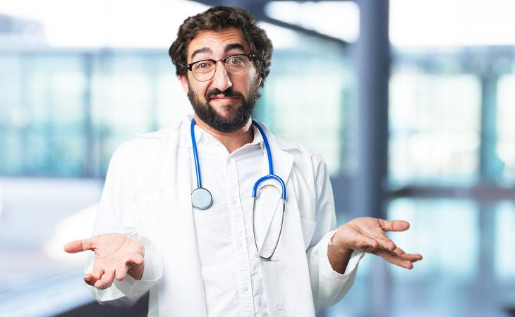 piada de médico