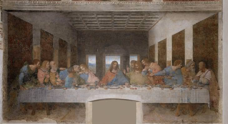 as 10 maiores pinturas do genial Leonardo da Vinci