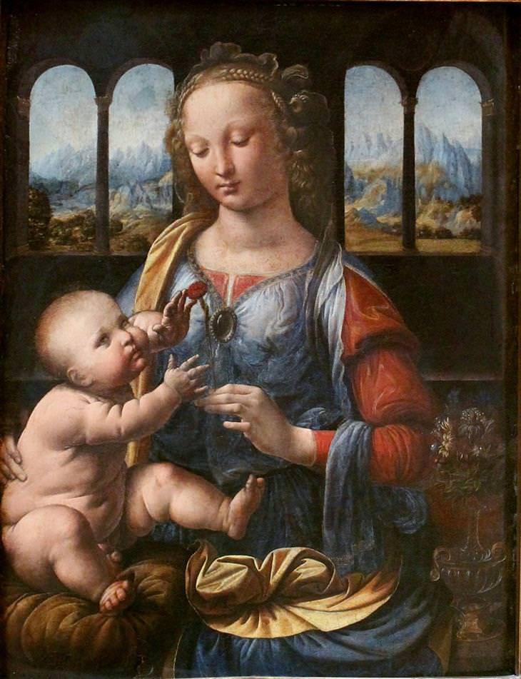 as 10 maiores pinturas do genial Leonardo da Vinci