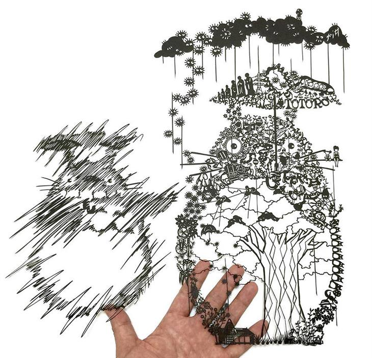 a arte em papel de mr. riu