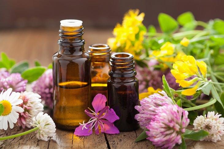 12 óleos essenciais naturais para alívio da dor