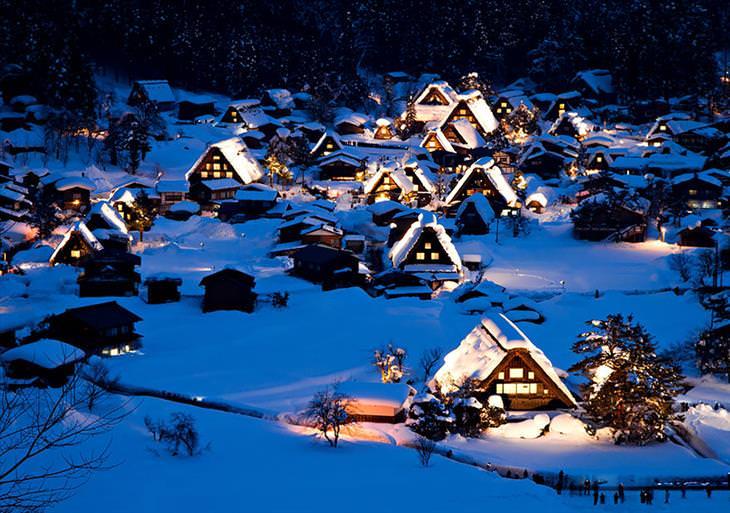 Depois de ver essas fotos, você quer visitar o Japão