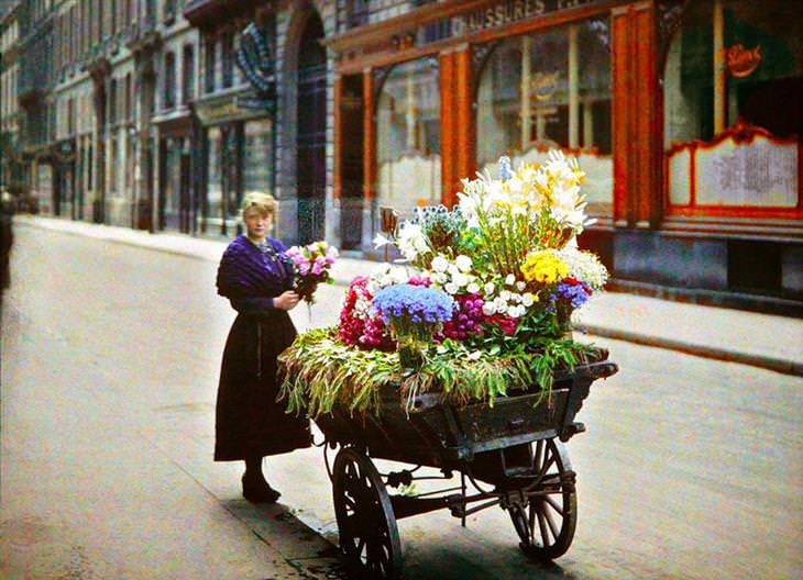 s primeiras fotografias coloridas da história