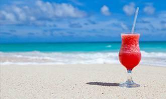 Drinque na praia