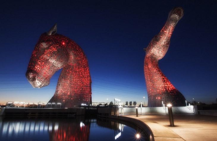 O anoitecer na Escócia é incrível!
