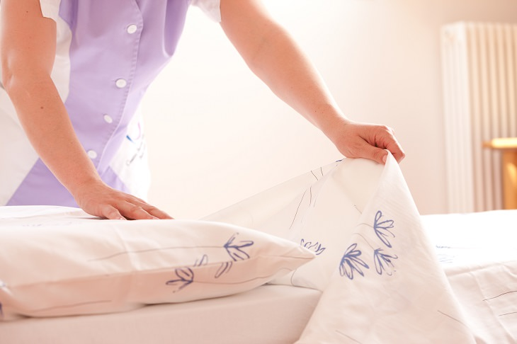 Quando você deve trocar suas roupas de cama?