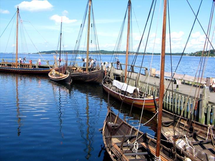 Os 10 melhores lugares para visitar na Dinamarca