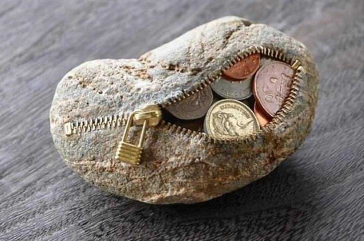 Incrível! Este artista pode transformar uma pedra em arte