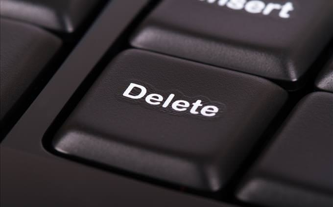 tecla delete