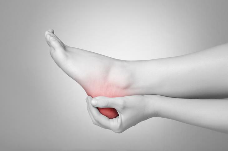 dor no tornozelo
