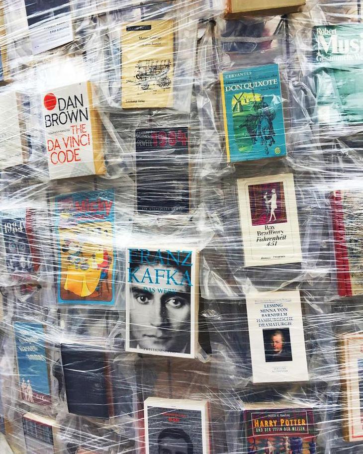 Partenon de livros na Alemanha