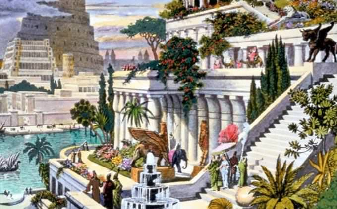 Hanging Gardens of Babylon artwork