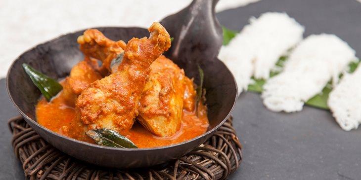 Receita de Curry Chettinad Masala de Frango