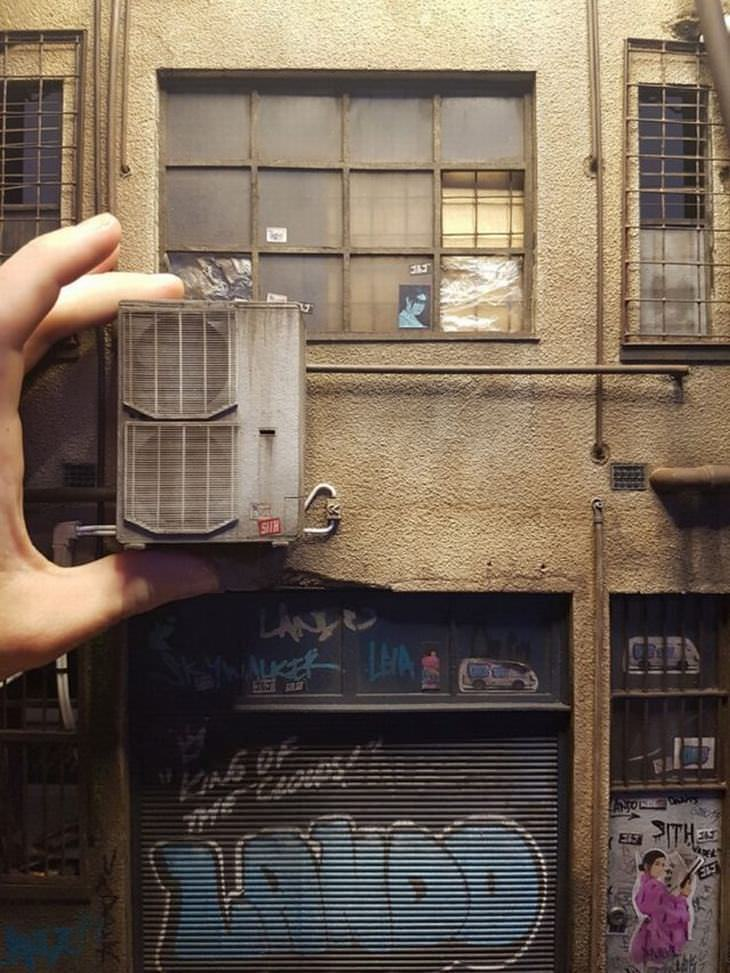 cidade miniatura de hong kong do artista joshua smith