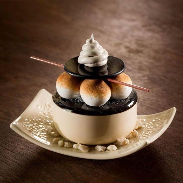 sobremesas de vidro de Shayna Lieb