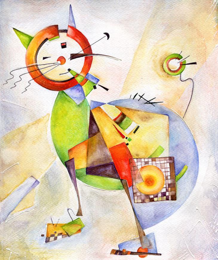 desenhos de gato