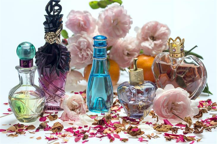 usar perfumes corretamente