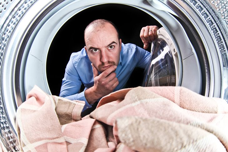 limpeza de lavadora