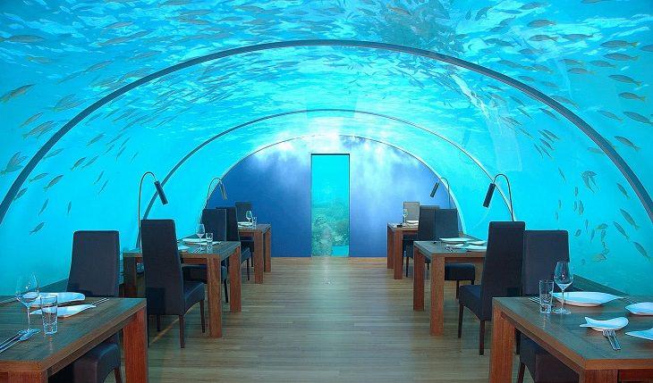hotel subaquático