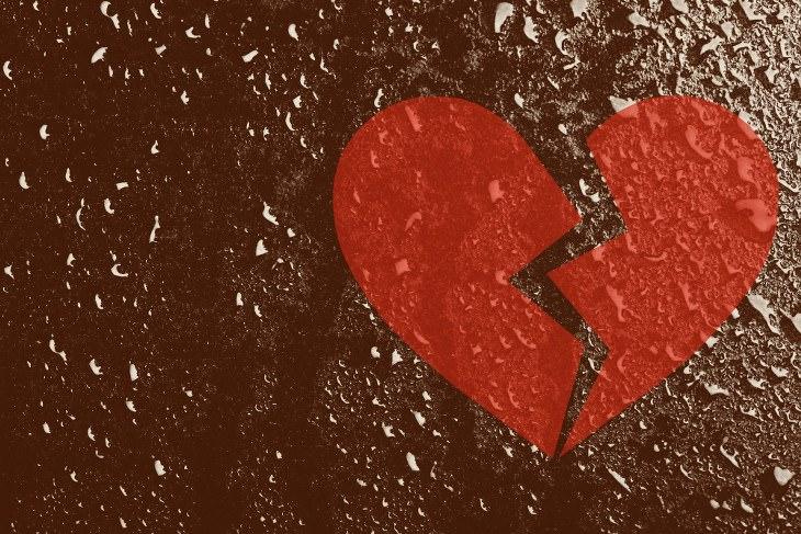 decepções amorosas
