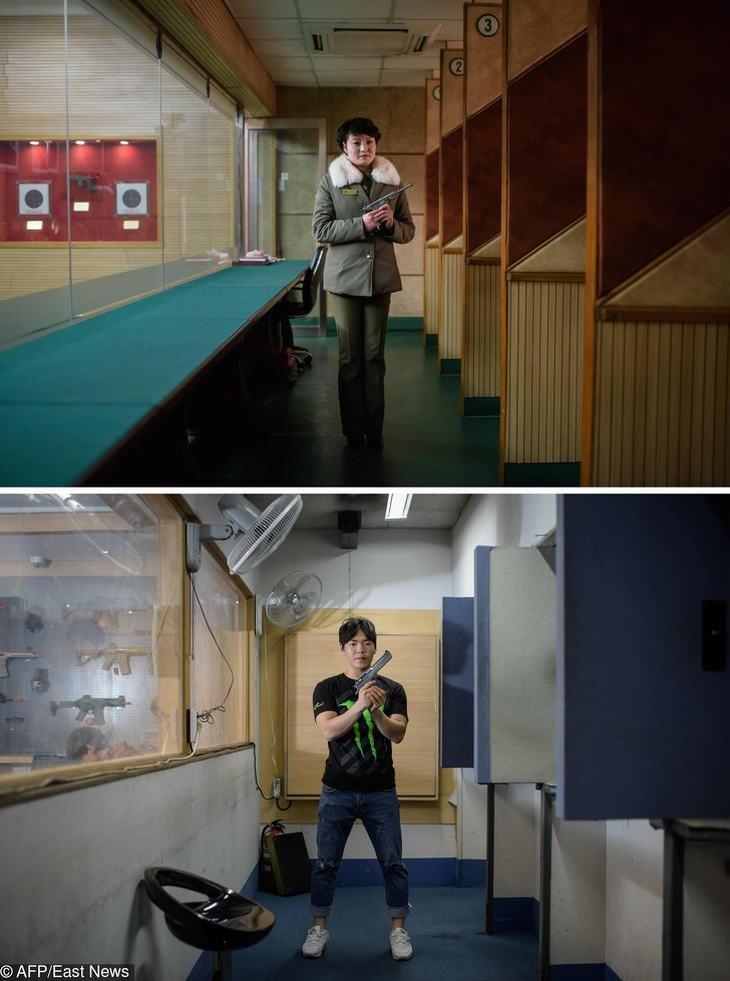 diferenças entre Coreias do Norte e do Sul